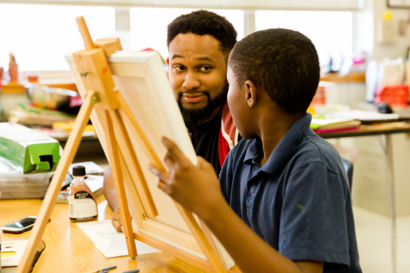 Little Artist Big Artist Mentor Jeffery Miles